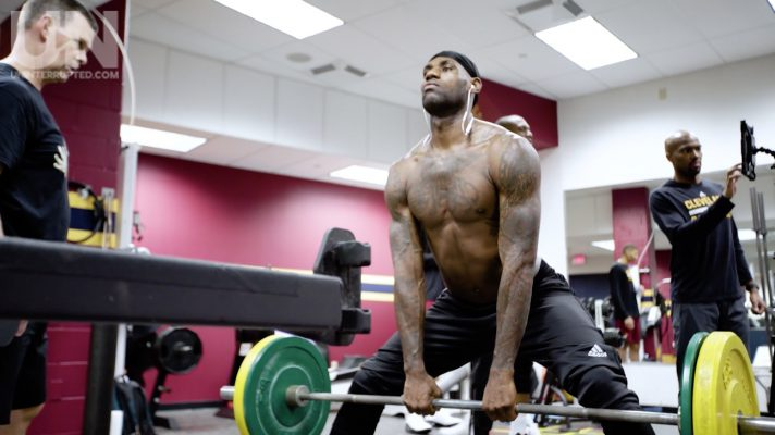Video: LeBron James Showcases Intense Playoff Workout