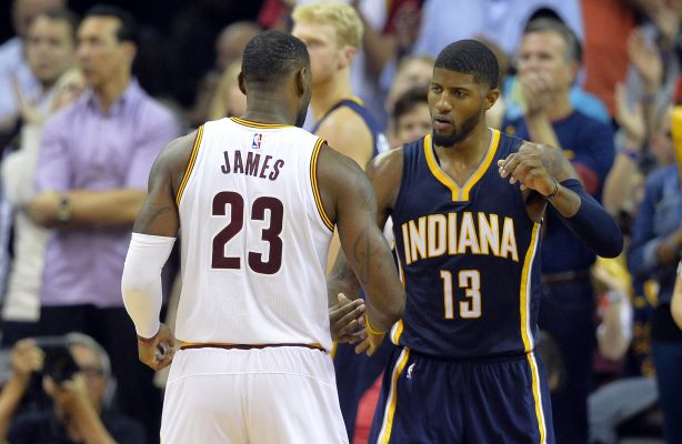 LeBron James vs. Paul George