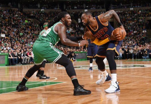 LeBron James vs. Boston Celtics