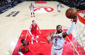 Kyrie Irving layup vs. Atlanta Hawks