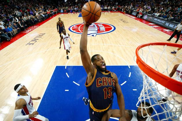Tristan Thompson Dunking