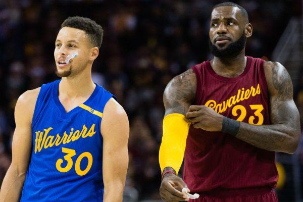Stephen Curry vs. LeBron James