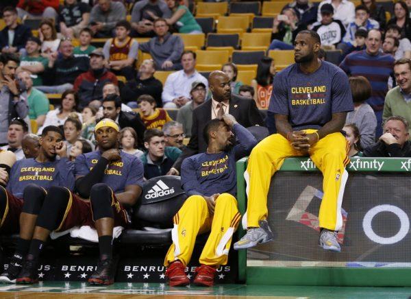 LeBron James Cavs NBA Playoffs