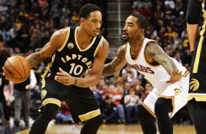 J.R. Smith Defense on DeMar DeRozan