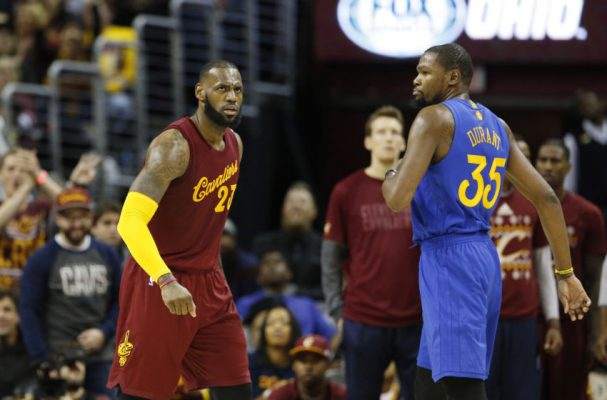 LeBron James vs. Kevin Durant, Cavs vs. Warriors