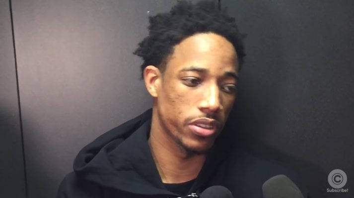 Video: DeMar DeRozan Offers $100 to Anyone That Can Stop LeBron James