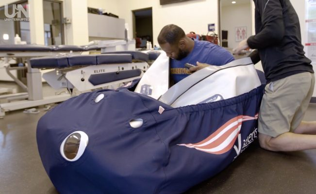 Video: LeBron James Gives Fans Inside Look Into His Hyperbaric