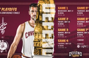 Eastern Conference Finals Schedule