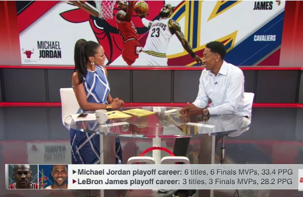Scottie Pippen Says LeBron James Hasn't Passed Kobe Bryant 'At All'