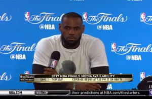 LeBron Reacts to House Being Vandalized With Racial Slurs