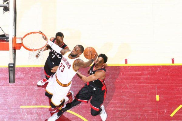 LeBron James Game 1 vs. Toronto Raptors