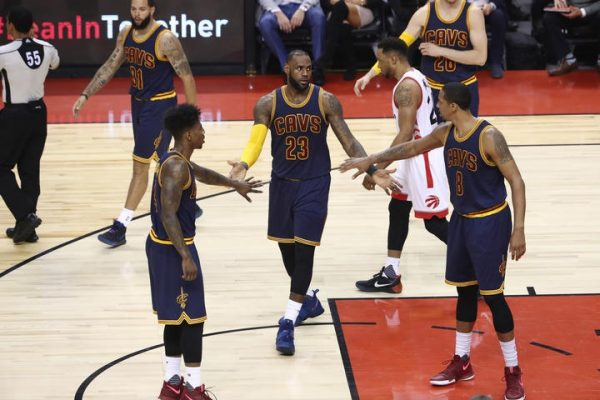 Cavs push Raptors to brink