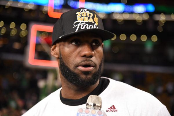 Racist vandals deface LeBron James' LA home with 'N-word' graffiti