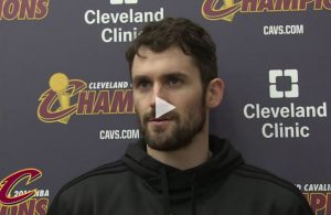Kevin Love Interview Cavs