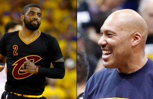 Kyrie Irving and LaVar Ball