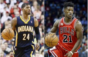 Paul George vs. Jimmy Butler