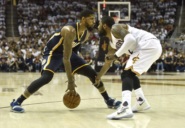 Paul George Kyrie Irving Cleveland Cavaliers