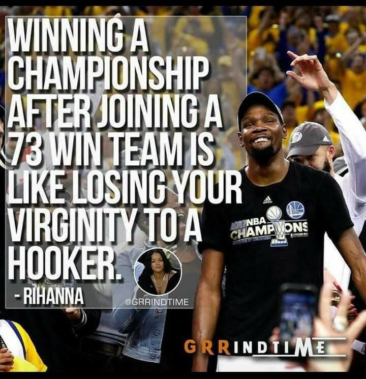Rihanna Kevin Durant LeBron James