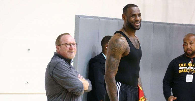 David Griffin and LeBron James