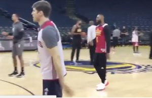 LeBron James During Finals Shootaround: 'Hello, NBA Finals, I Missed You'