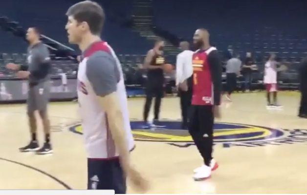 LeBron James During Finals Shootaround: 'Hello, NBA Finals, I Missed You'
