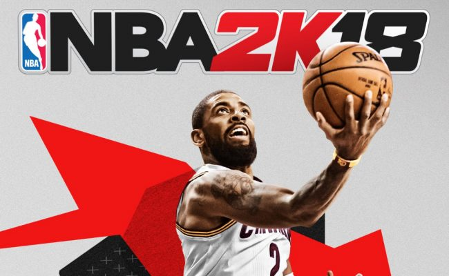 Kyrie Irving Named Cover Athlete for National Basketball Association 2K18