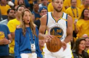 Video: Stephen Curry Gets Away With Blatant Double-Dribble Against LeBron James