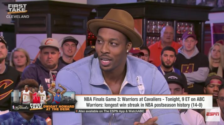 Video: Dwight Howard Says He Would Take Kevin Durant Over LeBron James