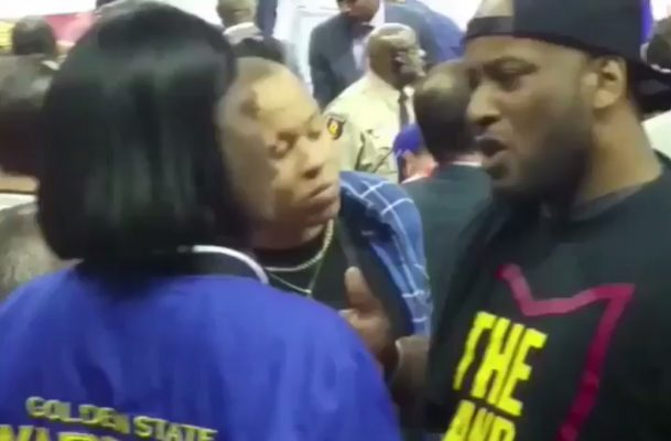 Cavs Fans Heckle Draymond Green's Mother After Finals Game 3