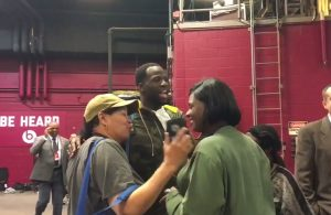 Video: Draymond Green Gives Cavs Security Hard Time After Game 4