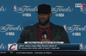 LeBron James 2017 NBA Finals Press Conference