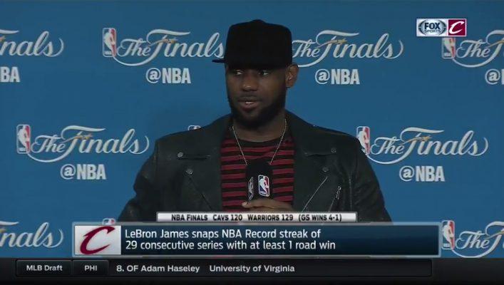 LeBron James 2017 NBA Finals Press Conference