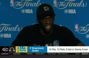 Draymond Green Says He Was Ready to Bash Two Cavs Players After Winning Championship