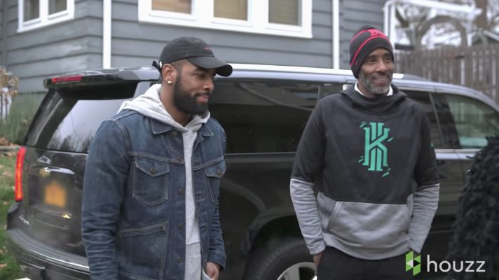 Video: Kyrie Irving Surprises Dad With Incredible Home Renovation for Father's Day