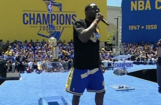 Video: Draymond Green Throws Shade at LeBron's Talk of Superteams