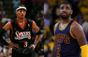 Allen Iverson and Kyrie Irving
