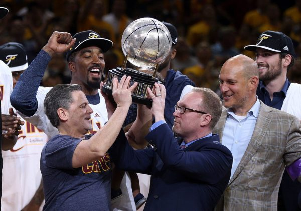 Cleveland Cavaliers, GM David Griffin part after title, three straight NBA Finals