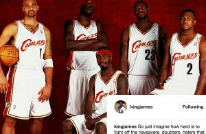 Video: LeBron James Takes Shot at Former Cavaliers Carlos Boozer, Ricky Davis, Smush Parker, and Darius Miles