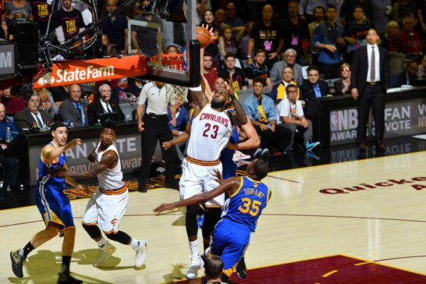Cleveland Cavaliers vs. Golden State Warriors Game 3 Recap: Late Slide Puts Cavs on the Brink