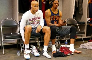 Richard Jefferson and Channing Frye