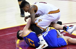 Iman Shumpert and Zaza Pachulia Fight