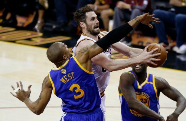 Kevin Love Golden State Warriors NBA Finals