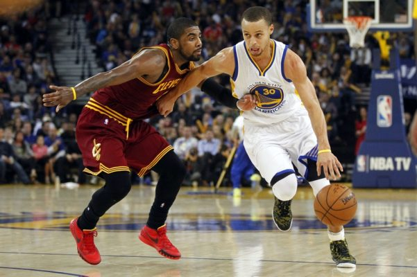 Kyrie Irving and Stephen Curry