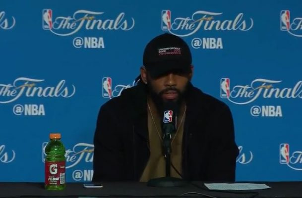 Video: Kyrie Irving Reveals Injury That Affected His Play in Second Half