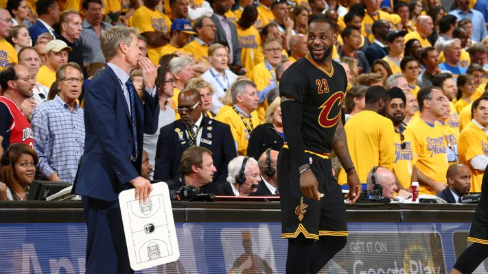 Draymond Green throws jabs at LeBron James, Cavs at Warriors championship rally