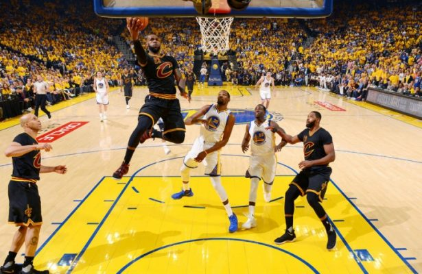 LeBron James, Golden State Warriors Game 5