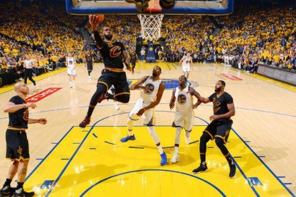 LeBron James, Golden State Warriors Game 5