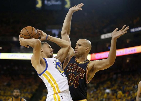 Richard Jefferson, Cavs vs. Golden State Warriors