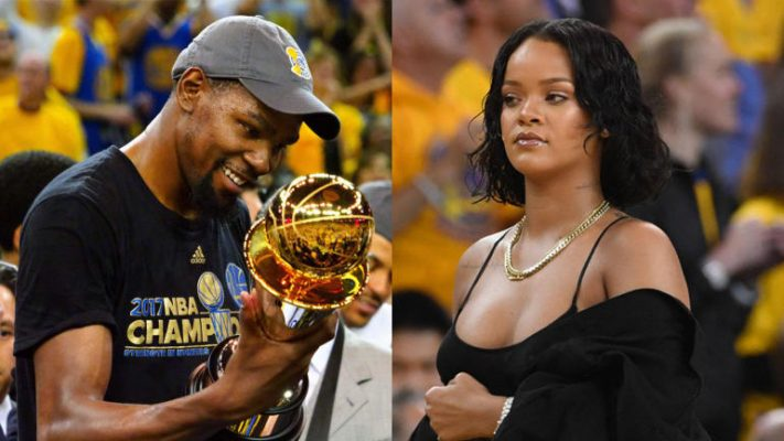 Kevin Durant and Rihanna