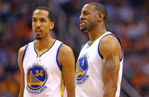 Shaun Livingston and Andre Iguodala